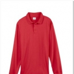 Stain Repel Long Sleeve Polo