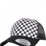 Checkerboard Retro Trucker