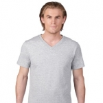 Unisex Soft Spun Fashion Fit V-Neck Tee