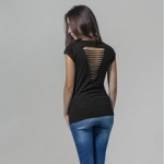 Ladies Back Cut Tee