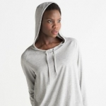 Women´s Loose Fit Hooded T