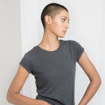 Women´s Organic Roll Sleeve T
