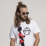 Merchcode - Banksy Anarchy Tee