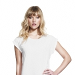 Women´s Rolled Sleeve Tunic T-Shirt