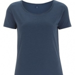 Continental Clothing - Women´s Bamboo Open Neck T-Shirt