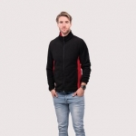 Two Tone Full Zip Fleece Jacket